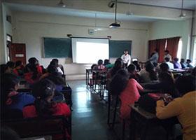 Materia Outreach Program Underway at Sahyadri Campus