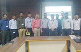 Researcher from HAN University of Applied Sciences, Netherlands visits Sahyadri