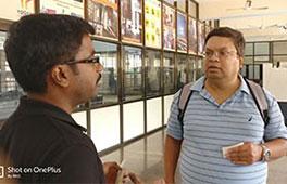 Dr.Vittal Prabhu, Penn State University, US visits Sahyadri