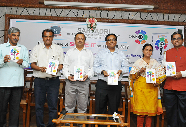 Sahyadri College of Engineering & Management - Shape It Book Release 2017