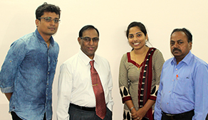 Faculty meets Prof. Nagabhushan, the Newly appointed Director of IIIT-Allahabad
