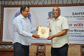"Dr. K Lakshmi Narayana (Retd. IAS) addressed faculty on ""Teach Next Generation Engineering"""