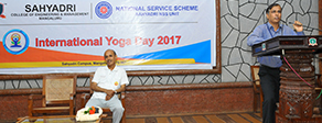International Yoga Day at Sahyadri
