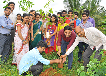 "Information Science & Engineering Department organizes ""STAISE-GO GREEN"""