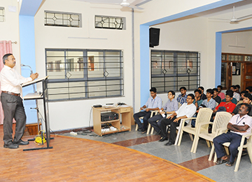 "Guest Talk on ""Opportunities & Challenges in Mechanical Engineering"""