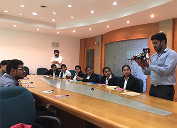 MBAs receive a Consultation Project at Epitas, LLP, Mangaluru