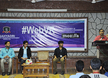 Mozilla Club and ISE Department organize WEBVR workshop