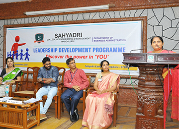 Leadership Development Programme organized by Department of Business Administration
