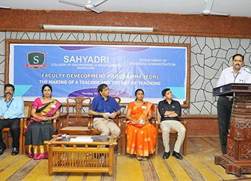One-Day Faculty Development Programme organized by Dept. of Business Administration