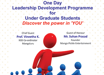 One-Day Leadership Development Programme for UG students