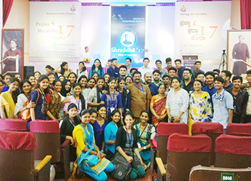 Final year MBA Students attend Shraddha'17
