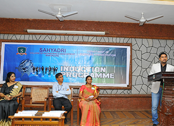 Inaugural of Weeklong Induction programme for MBA students 2017-19 Batch