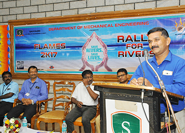 FLAMES - Student Association of Mechanical Engineering Inaugurated
