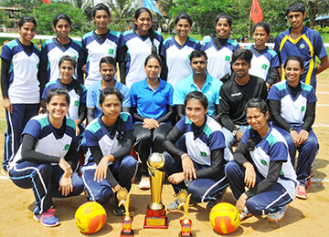 VTU Inter-Collegiate Mangalore Zone Throw ball Tournament at Sahyadri Campus