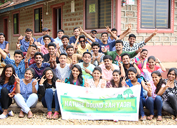 MBAs on an Outbound Training Camp at Nature Bound Sahyadri