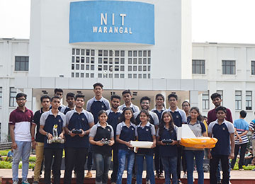 "Sahyadrians participate & win in ""Technozion 2017"" at NIT Warangal"