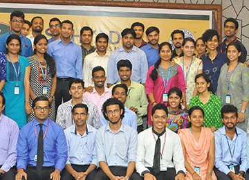 Eleven Sahyadrians recruited by SLK Software Solutions