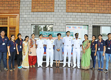 Indian Navy visits Sahyadri for recruitment drive