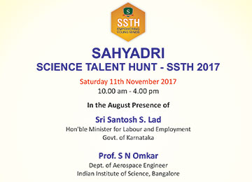 Sahyadri Science Talent Hunt (SSTH) 2017