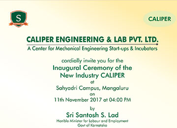 Inauguration of Caliper Engineering & Lab Pvt. Ltd