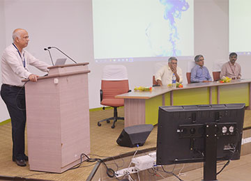 Prof. Richard Pinto delivered a Plenary Talk at IIT Madras