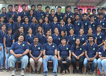 MBAs on an Outbound Training in Madikeri