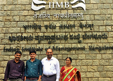 MBA Faculty attend Analytics Master Class on BFSI at IIM, Bangalore