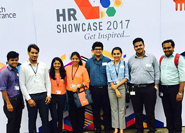 MBAs attend NHRD Showcase in Bengaluru
