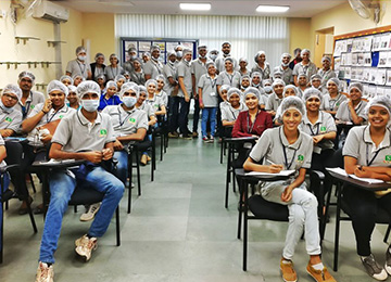 MBAs visit ITC Biscuit Factory at Whitefield, Bengaluru