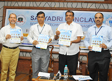 "Press Meet on ""Sahyadri Conclave 2018"" held in the Campus"