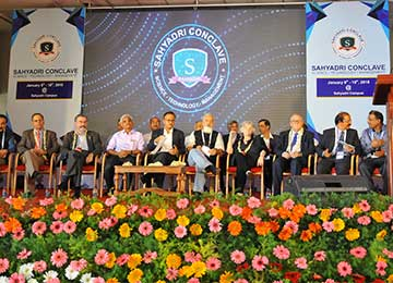 Valedictory Ceremony of Sahyadri Conclave – Science, Technology & Management