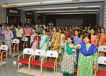 National Voter's day – Staff & Students take the pledge