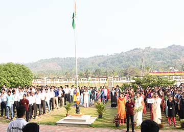 69th Anniversary of the Republic Day Celebrated in Sahyadri