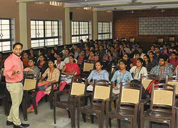 "Department of Information Science & Engineering conducts workshop on ""Art of Technical Writing"""