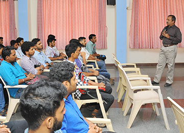 Dept. of Mechanical Engineering organizes an Industry-Oriented Training