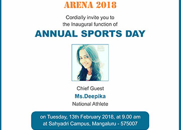 Arena 2018 - Annual Sports Day
