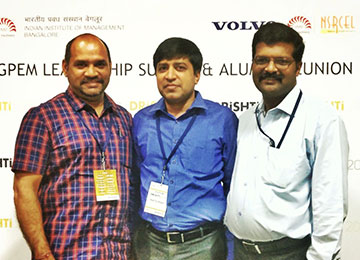 MBA Faculty attend 'Drishti' – a Visionary Leadership Summit and Alumni event at IIM, Bangalore