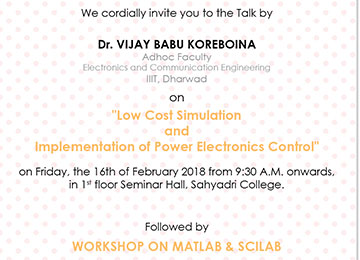 WORKSHOP ON MATLAB & SCILAB