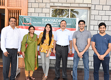 Mr. Ajith Kumar Rai, Chairman & Managing Director, Suprajith Engineering Ltd along with his family visited Sahyadri