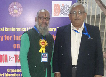 Dr. S Ramakrishna Sharma Chaired a Session & Presented a Paper in an International Conference