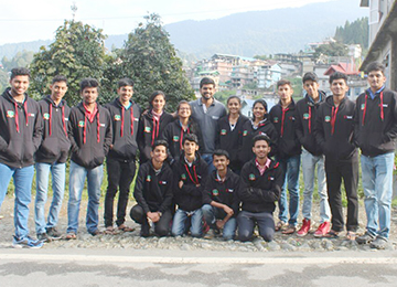 Achievement of first years at the National Institute of Technology (NIT) Sikkim