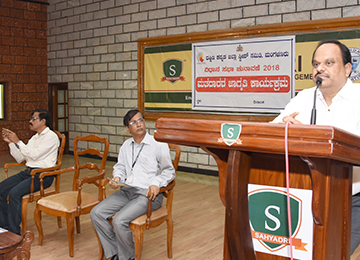 Dakshina Kannada SVEEP (Systematic Voters' Education and Electoral Participation) committee visits Sahyadri