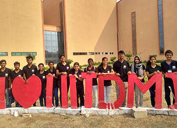 "Sahyadrians participate and win in ""Abhikalpan-18"" held at IIITDM Jabalpur, MP"