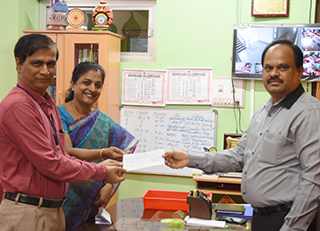 Sahyadri provides Sponsorship for Swacchatha Calling Bell Project of Zilla Panchayath