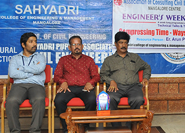 Technical Talk during Engineer's Week