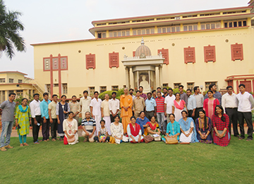 Third Batch of faculty underwent a Three-Day Worksop at RIMSE, Mysore