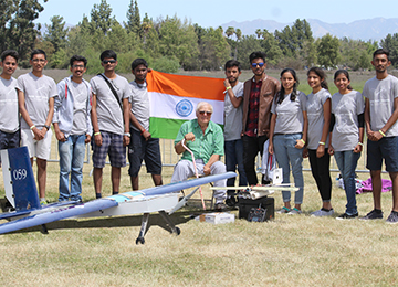 Another Milestone achieved at International Level: Team Challengers in SAE Aerodesign 2018