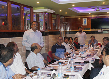 Sahyadri organized a Fellowship Dinner at RV International Hotel in Jigani, Bengaluru