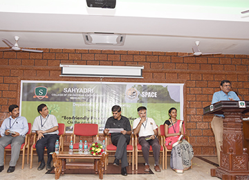 "Two-Day workshop on ""Eco-friendly Products and Practices"" organized by Department of Civil Engineering"