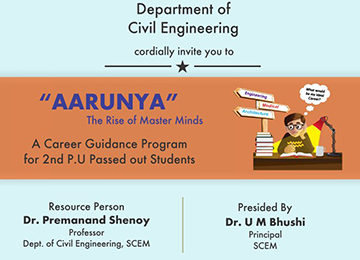 Aarunya - One-day Career Guidance Programme